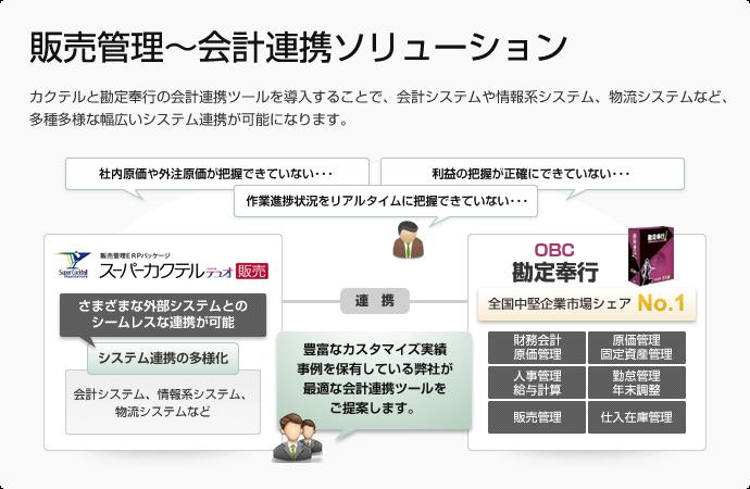 販売管理~会計連携ソリューション